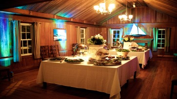 Buffet in the dining room